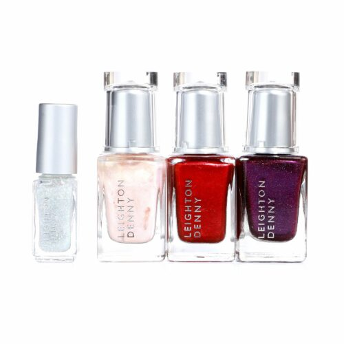 LEIGHTON DENNY Nagellack-Set Festive Surprise Farblacke 3x 12ml Glitzerlack 1x 4,6ml