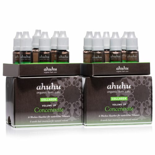 ahuhu organic hair care Volume up Concentrate 12x 10ml
