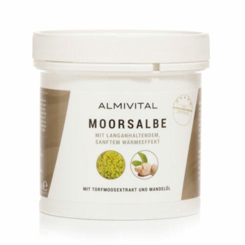 ALMIVITAL Moorsalbe mit Arnika & Rosskastanie wärmend, 250ml