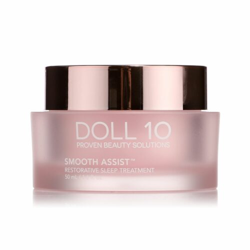 DOLL 10 BEAUTY Smooth Assist Sleep Treatment Pflege Creme 50ml