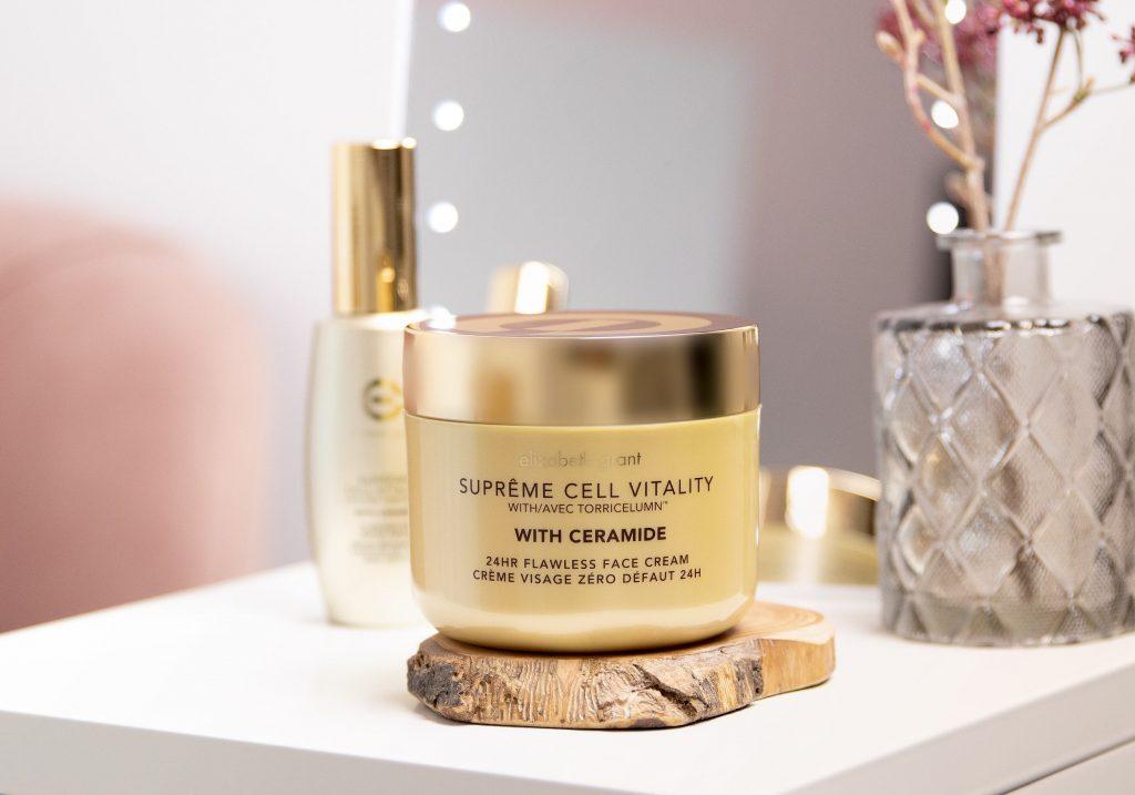 ELIZABETH GRANT SUPRÊME CELL VITALITY with Ceramide 24hr Flawless Face Cream