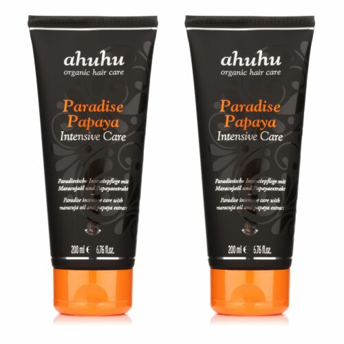 ahuhu organic hair care Paradise Papaya Intensive Care 2x 200ml
