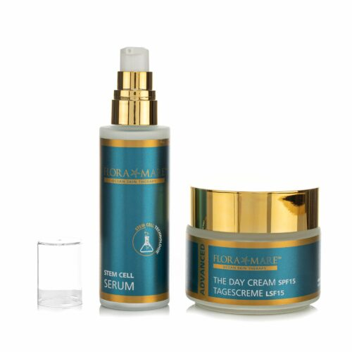 FLORA MARE™ Advanced The Day Cream100ml& Stem Cell Serum 50ml