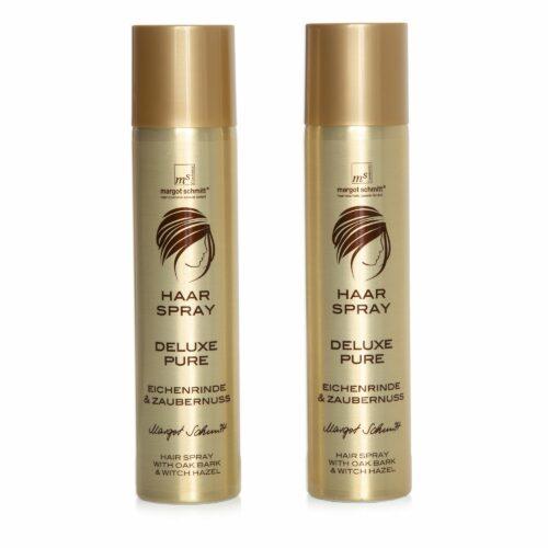 MARGOT SCHMITT® Deluxe Pure Haarspray Aerosol 2x 300ml