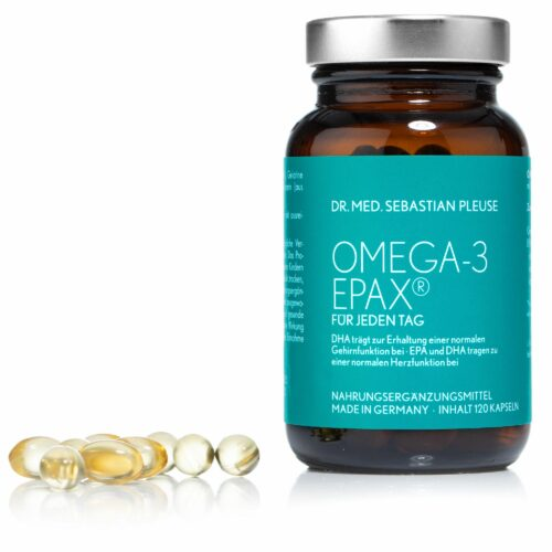 Dr. med. Sebastian Pleuse Omega 3 EPAX 120 Kapseln für 60 Tage
