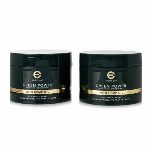 ELIZABETH GRANT Green Power & Hemp Oil Bodycream 2x 400ml