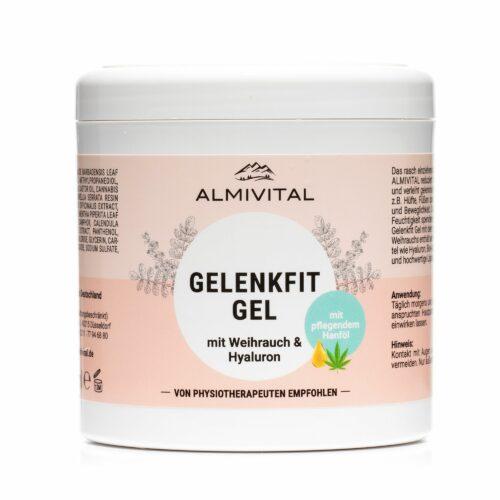ALMIVITAL Gelenkfit-Gel mit Weihrauch, Hyaluron & Aloe Vera 500ml