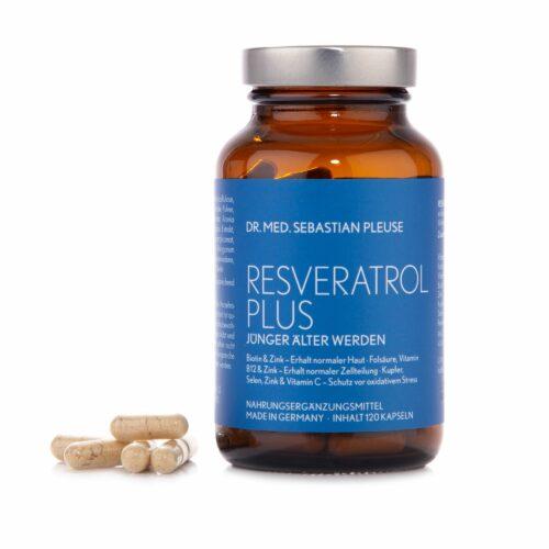 Dr. med. Sebastian Pleuse Resveratrol Plus 120 Kapseln für 8 Wochen