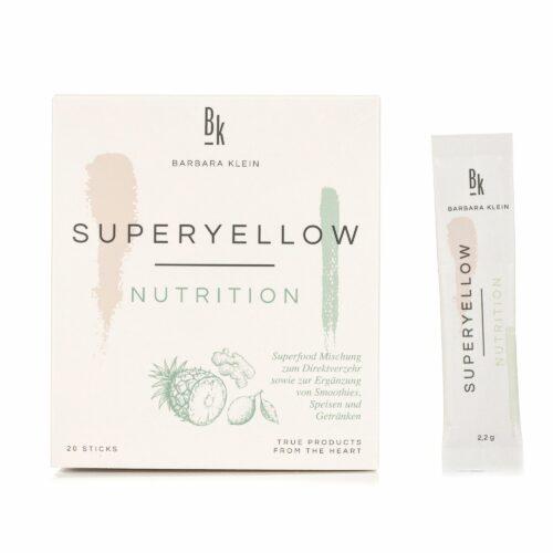 BK by Barbara Klein Superyellow Sticks mit Vitamin C und Zink 20 Sticks für 20 Tage