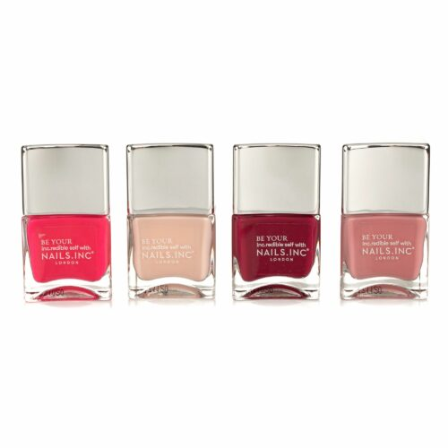 NAILS.INC® Nagellack-Set On Cloud Wine Farblacke 4x 14ml