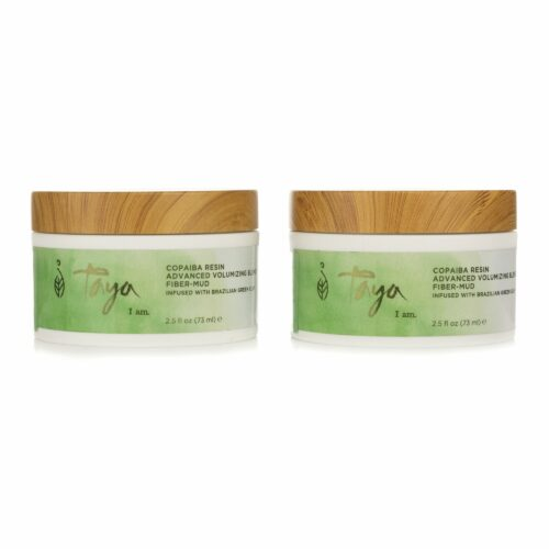 TAYA HAIRCARE Grüne Tonerde Styling Paste für Volumen 2x 73ml