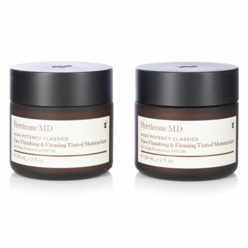 DR. PERRICONE High Potency Classics Face Finishing & Firming Tinted Moisturizer, 2x 59ml