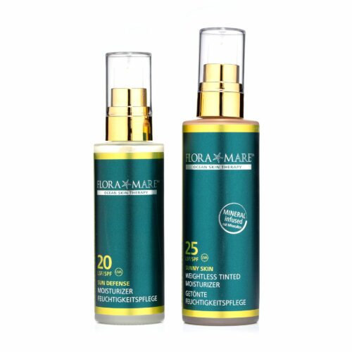 FLORA MARE™ Protection Moisturizer LSF20 50ml & Tinted LSF25 80ml