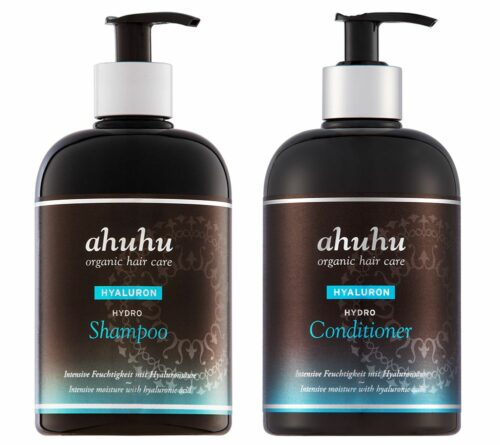 ahuhu organic hair care Hydro Shampoo & Hydro Conditioner je 500ml