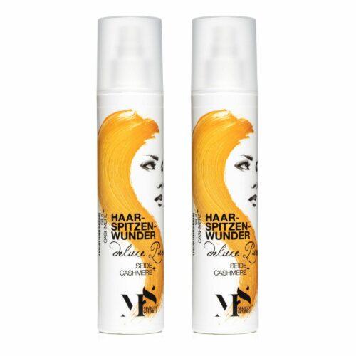 MARGOT SCHMITT® Deluxe Pure Haarspitzenwunder mit Cashmere und Seide 2x 250ml