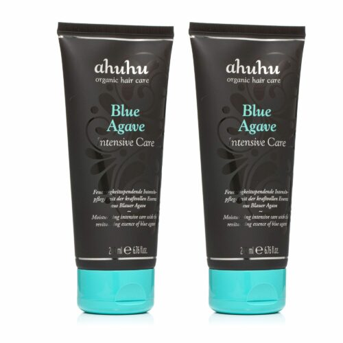 ahuhu organic hair care Blue Agave Intensive Care 2x 200ml