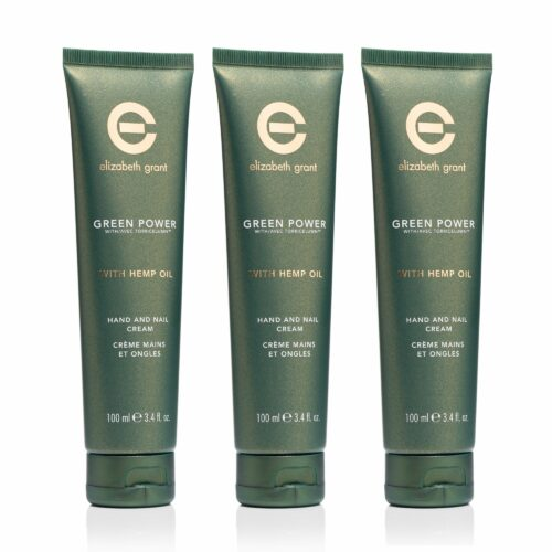 ELIZABETH GRANT Green Power & Hemp Oil Handcreme 3x 100ml