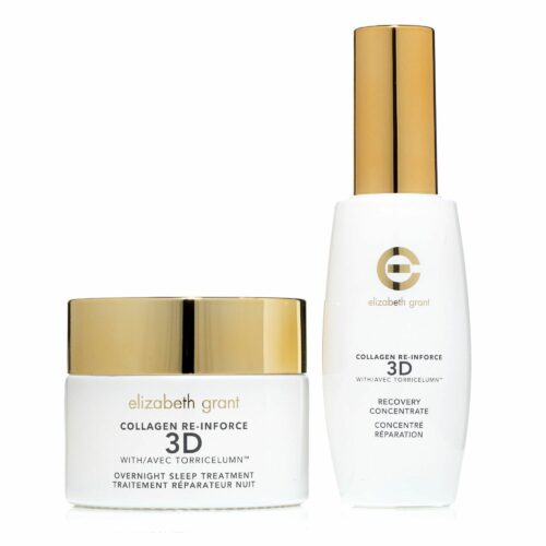 ELIZABETH GRANT Collagen 2-Stufen Behandlung Nachtpflege 100ml & Konzentrat 60ml