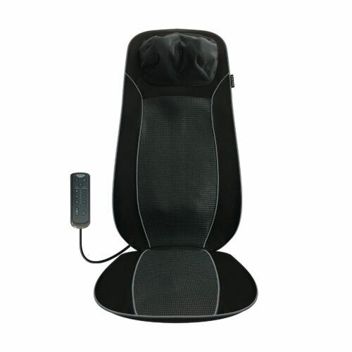 SALTER Shiatsu-Sitzauflage für Rücken, Nacken & Schultern, 3 Stufen mit Wärmefunktion