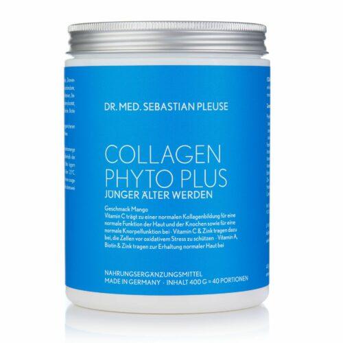 Dr. med. Sebastian Pleuse Collagen Phyto Plus Mango Drink mit Peptan® 400g