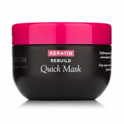 ahuhu organic hair care Keratin Rebuild Quick Mask 200ml