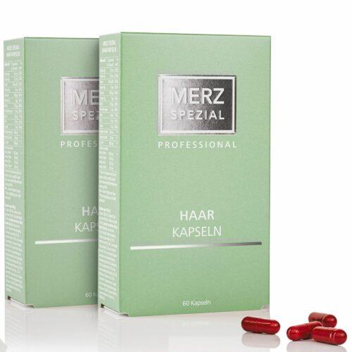 MERZ SPEZIAL Professional Haar-Kapseln 2x 60 Stück