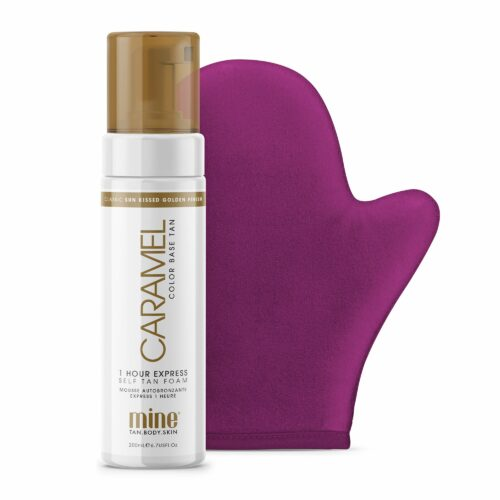 MINETAN™ Perfect Color Match Selbstbräunungsmousse Caramel 200ml inkl. Applikator
