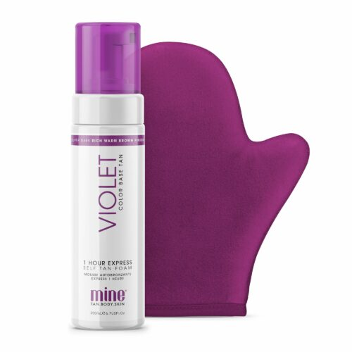 MINETAN™ Perfect color Match Selbstbräunungsmousse Violett 200ml inkl. Applikator