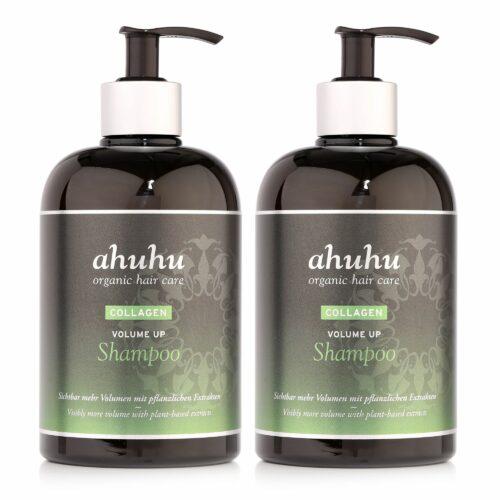 ahuhu organic hair care Collagen Volume up Shampoo 2x 500ml