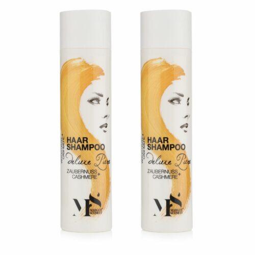 MARGOT SCHMITT® Deluxe Pure Shampoo mit Zaubernuss & Cashmere, 2x 250ml
