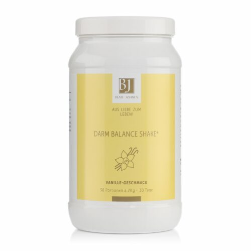 BEATE JOHNEN Aus Liebe zum Leben Darm Balance Shake mit Vanillegeschmack 600g für 30 Tage