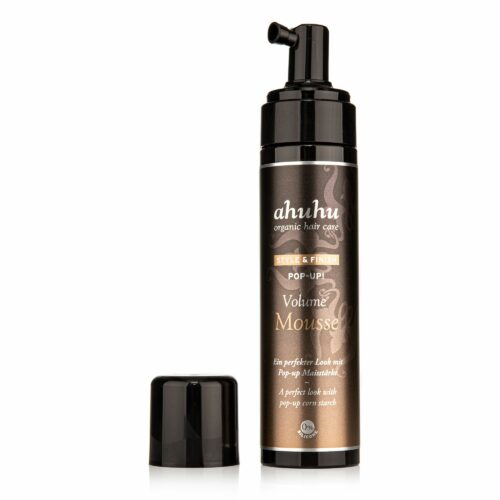 ahuhu organic hair care Pop Up! Volume Mousse 200ml