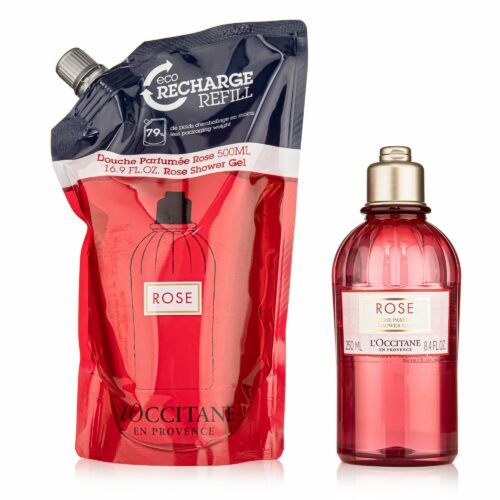 L'OCCITANE Duschgel Duo Rose 250ml & Refill 500ml