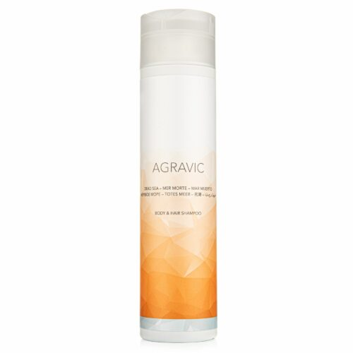 AGRAVIC Dead Sea Cosmetics Hair & Body Shampoo 250ml