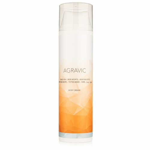 AGRAVIC Dead Sea Cosmetics Body Cream 200ml