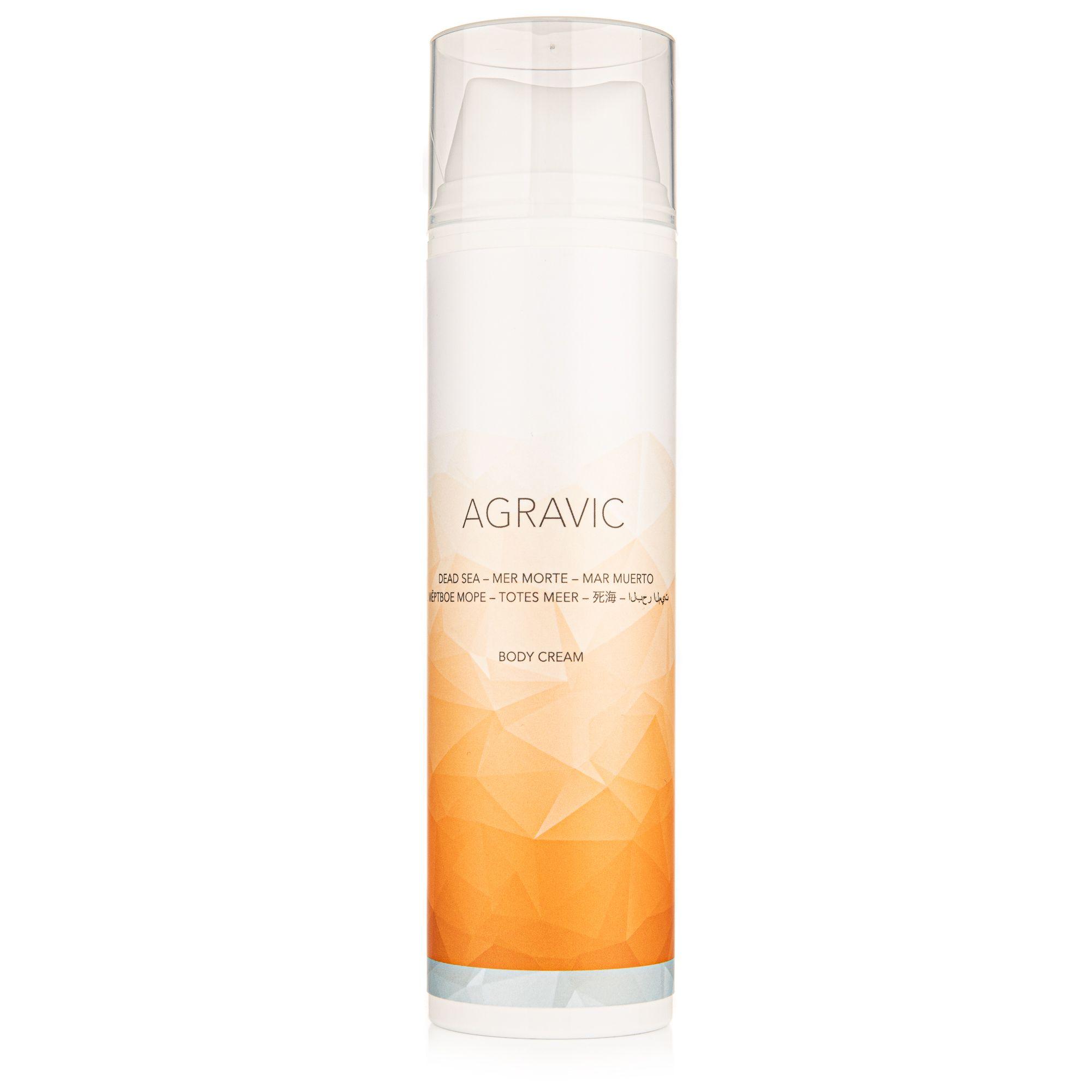 AGRAVIC Dead Sea Cosmetics Body Cream 200ml