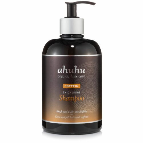 ahuhu organic hair care Coffein Thickening Shampoo für dickeres Haar 500ml