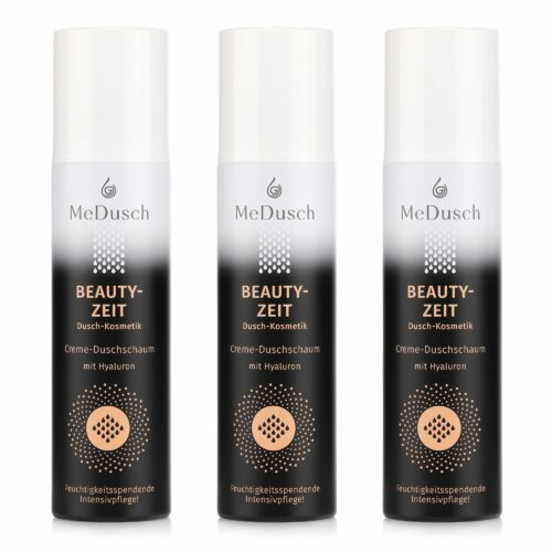 MeDusch Creme-Duschschaum Beautyzeit Intensiv- pflege mit Hyaluron 3x 150ml