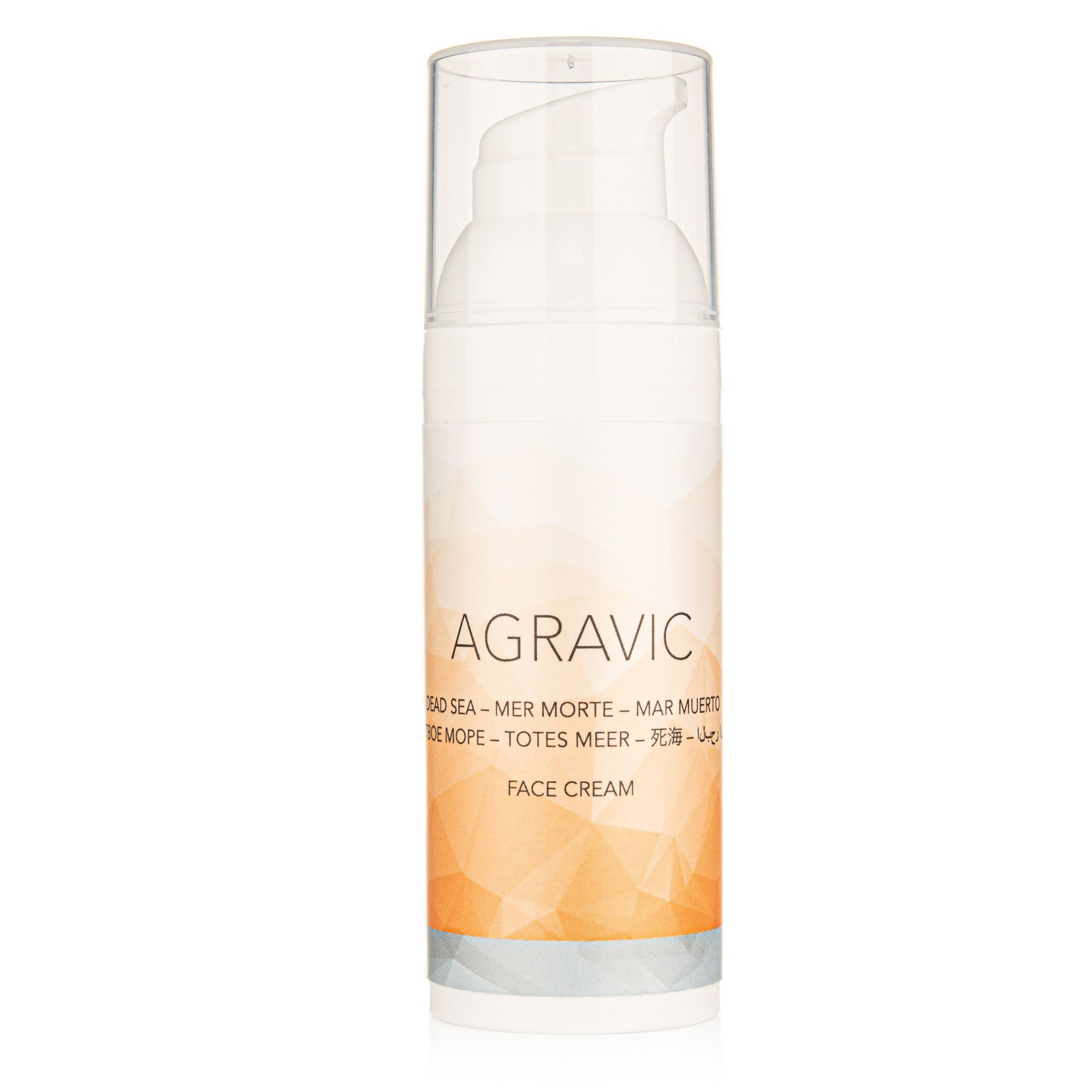 AGRAVIC Dead Sea Cosmetics Face Cream 50ml
