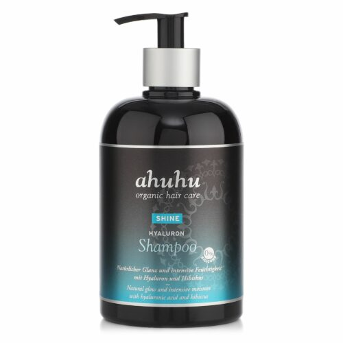ahuhu organic hair care Shine Hyaluron Shampoo 500ml