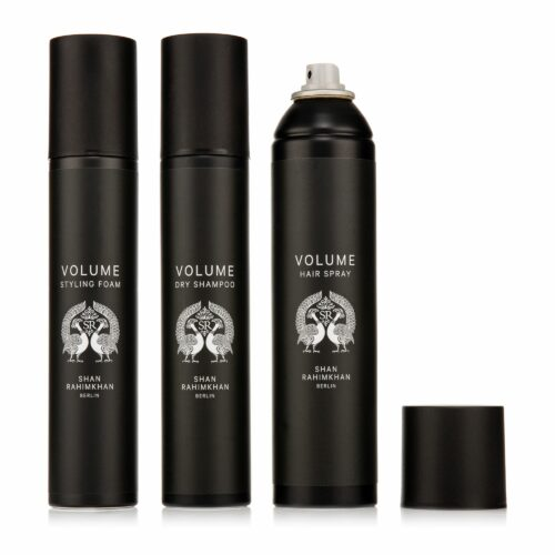 SHAN RAHIMKHAN Volume-Set Dry Shampoo 200ml, Styling Foam 200ml & Hair Spray 300ml