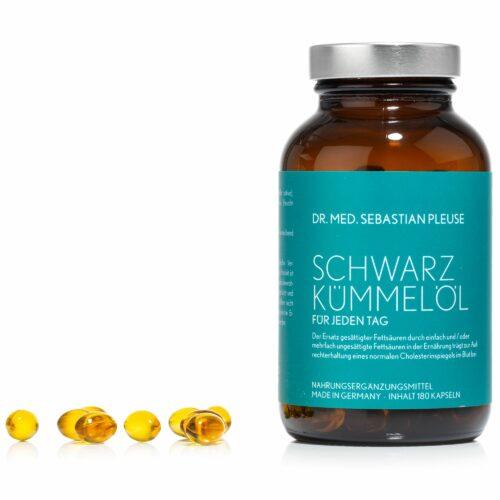 Dr. med. Sebastian Pleuse 180 Schwarzkümmelöl Kapseln für 90 Tage