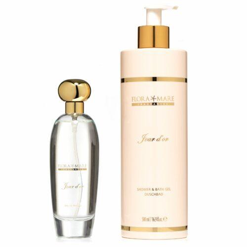 FLORA MARE™ Jour d'or Eau de Parfum 100ml & Duschbad 500ml