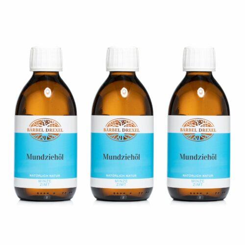 BÄRBEL DREXEL Mundziehöl mit pflanzlichen & ätherischen Ölen 3x 250ml