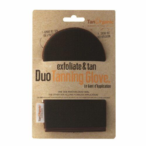 TANORGANIC Exfoliate & Tan Duo Tanning Glove Applikationshandschuh