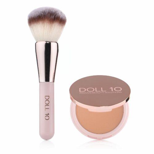 DOLL NO.10 Refocus HD Perfecting Hautausgleichender Puder 9,5g mit Pinsel