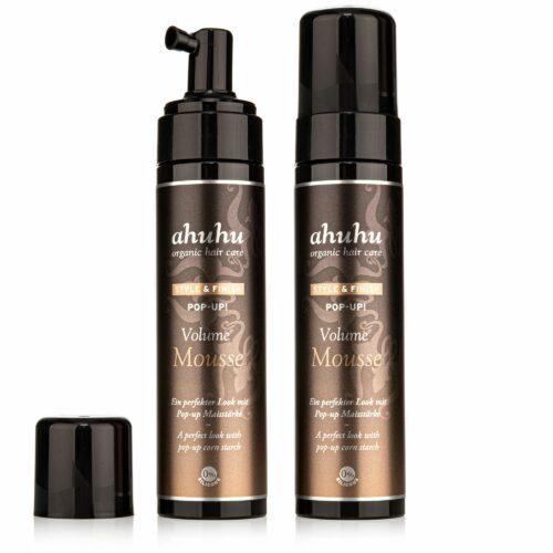 ahuhu organic hair care Pop Up! Volume Mousse 2x 200ml