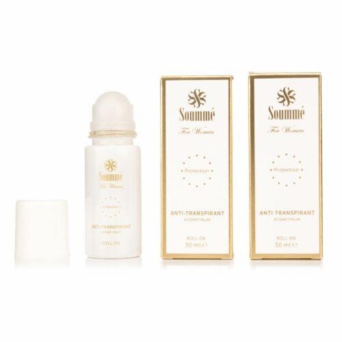 SOUMMÉ Roll-on 2x 50ml Antitranspirant schützt vor Schweiß & Geruchsbildung