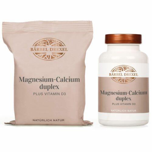 BÄRBEL DREXEL Magnesium-Calcium duplex plus Vitamin D 350 & 550 Stück für ca. 7,5 Monate