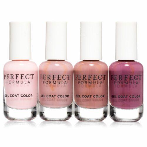 PERFECT FORMULA Nagellack-Set Spring Collection Gel Coat Color 4x 8ml
